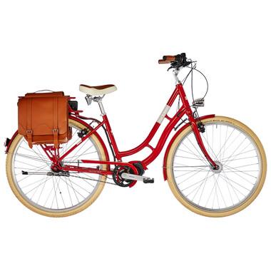 Vélo Hollandais Électrique ORTLER E-SUMMERFIELD Rouge 2019